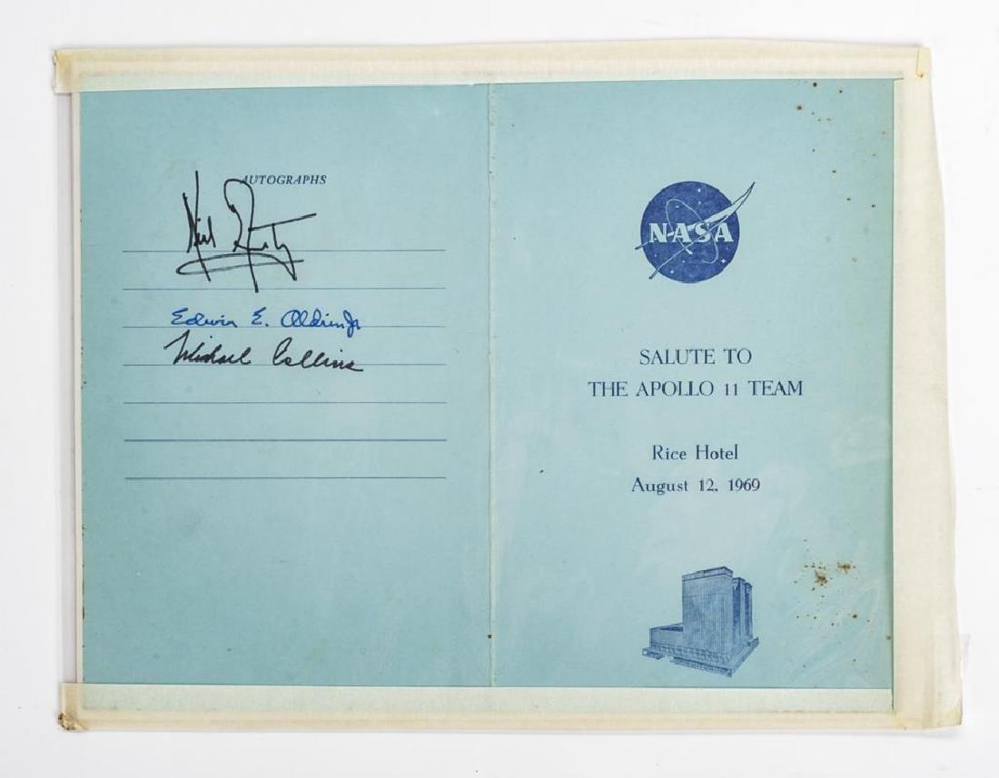 Salute to Apollo 11 Team Program Rice Hotel