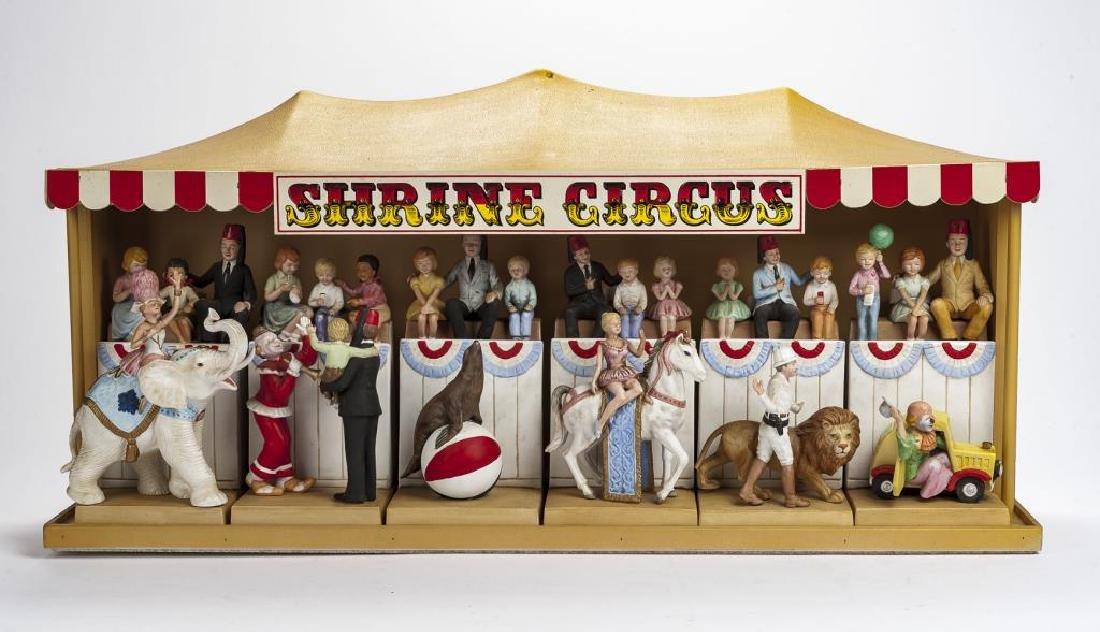 McCormick Distilling Co Shrine Circus Decanter Set
