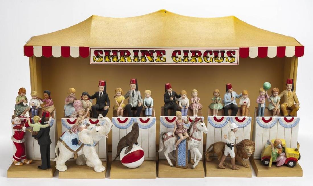 McCormick Distilling Co Shrine Circus Decanter Set - 2