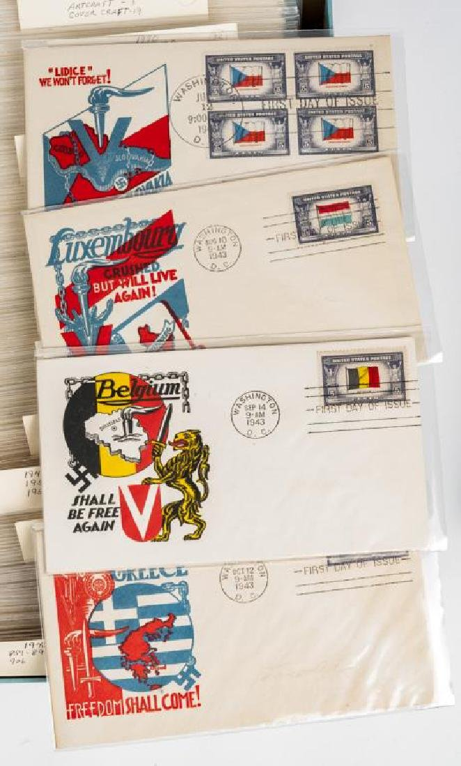 Mega FDC Collection Beginning 1940