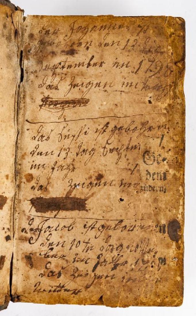 Ausbund Hymnbook Printed in Germantown, PA - 3