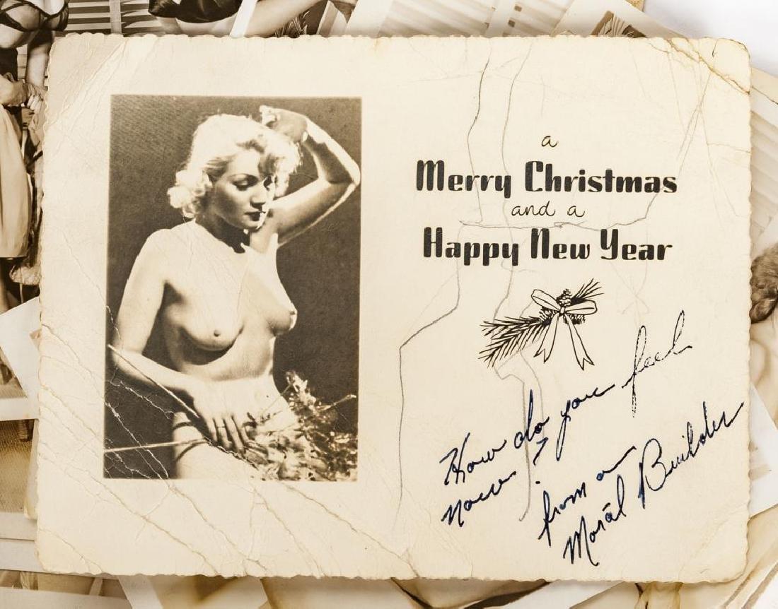 15 Vintage Nude Photographs & 1 Handkerchief - 3