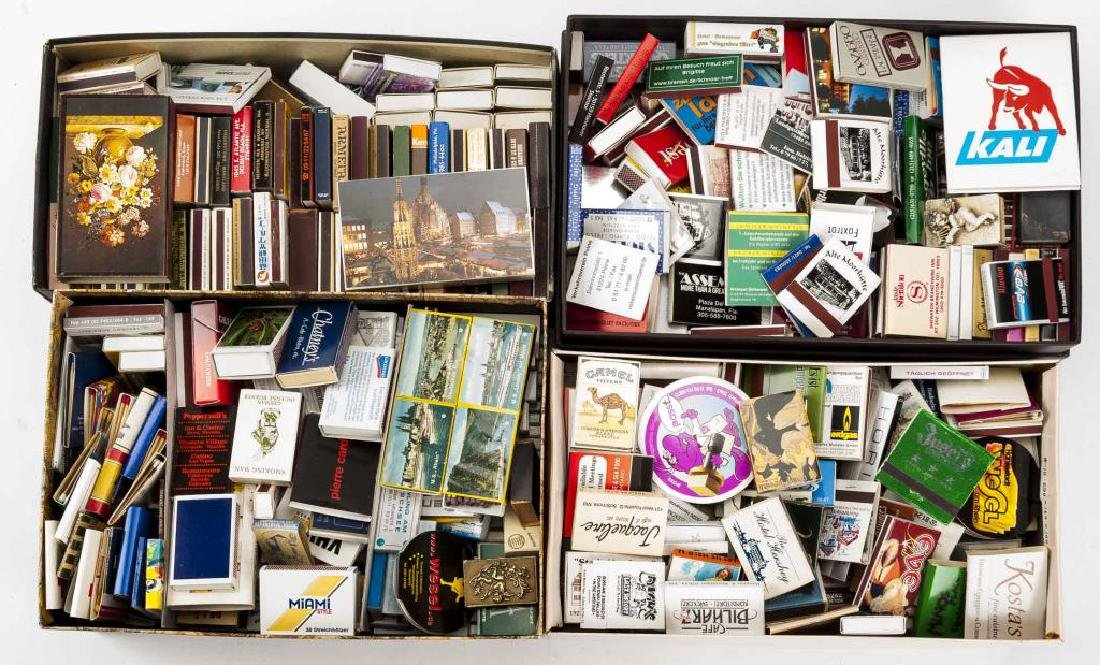 700+ Matchbooks & Case Covers Incl Locations