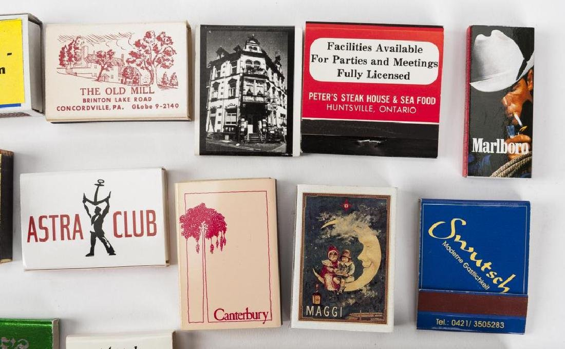 700+ Matchbooks & Case Covers Incl Locations - 5