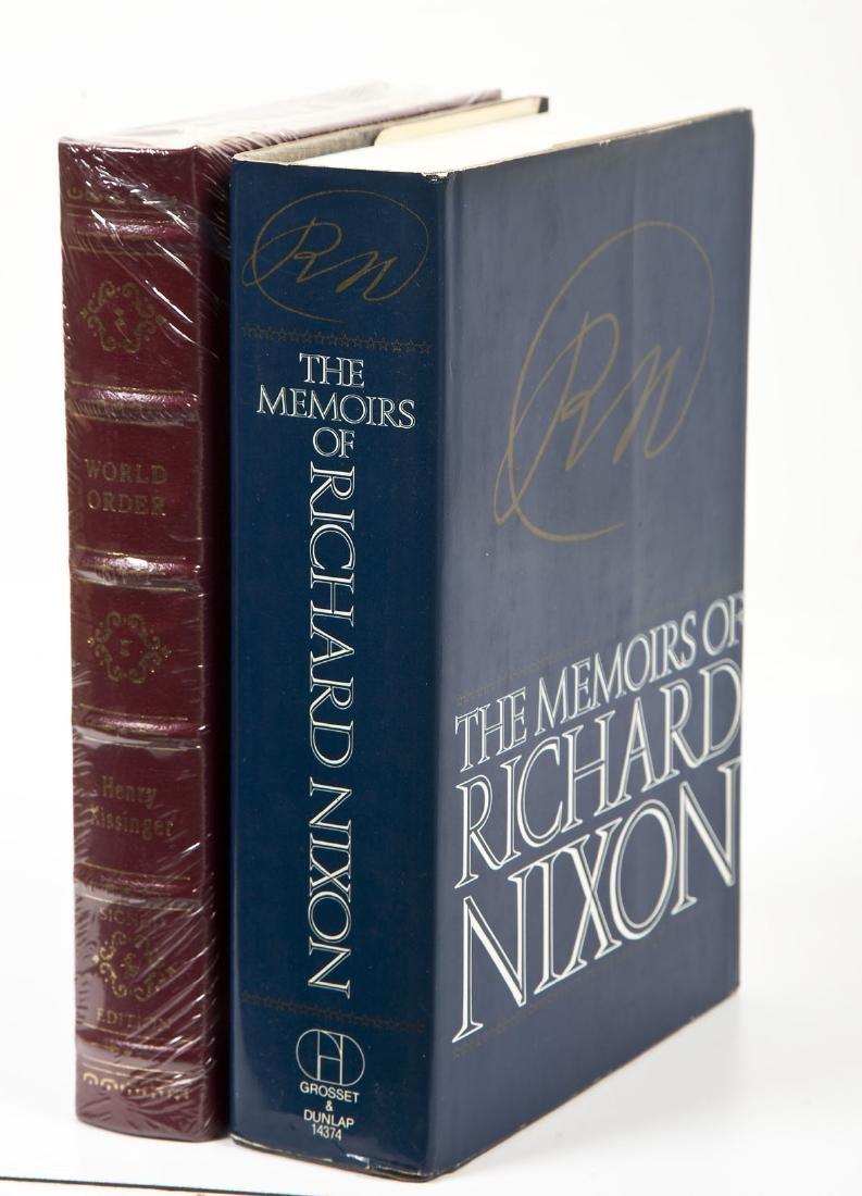 Signed President Nixon & Henry Kissinger Books