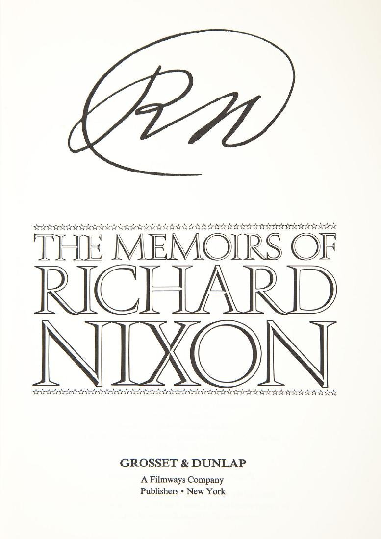 Signed President Nixon & Henry Kissinger Books - 3