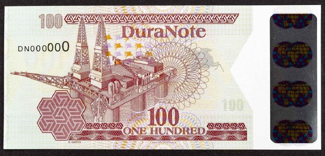 26 Duranote 100 Units Banknote Specimens - 2