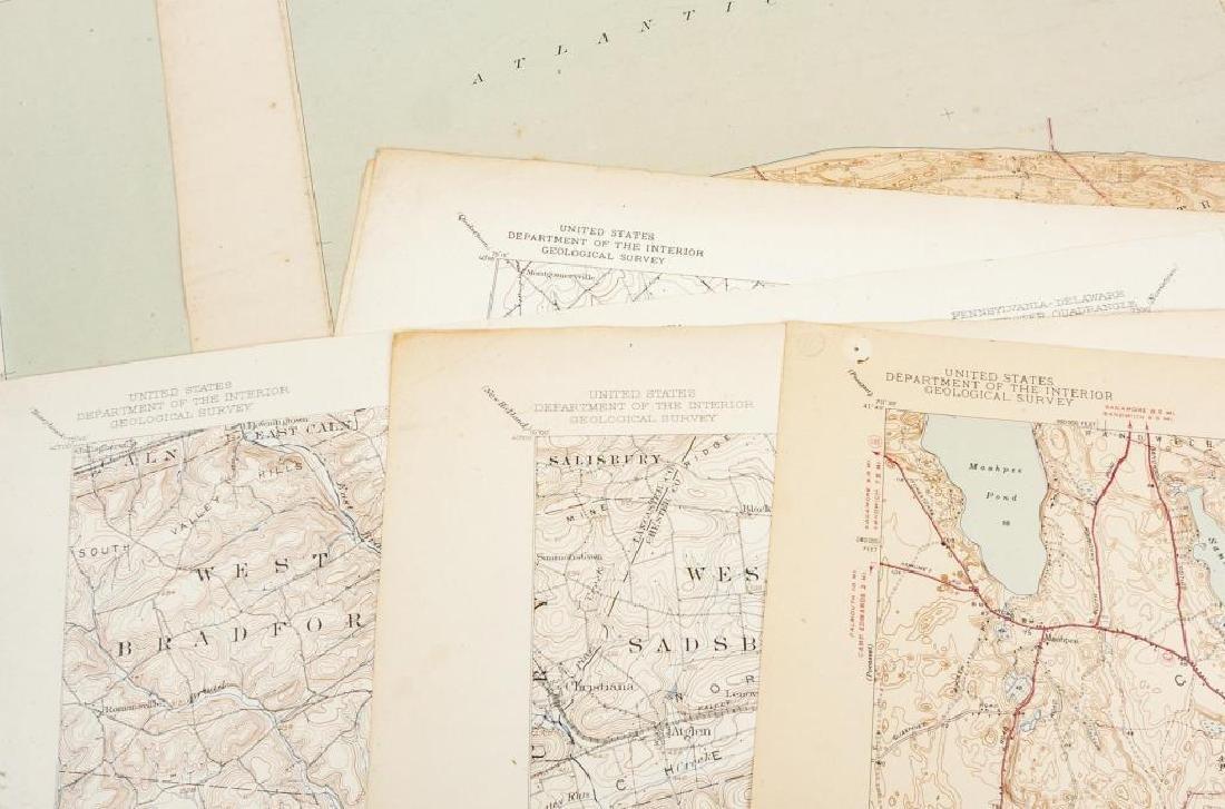 Portfolio Containing 21 Topographic Maps - 2