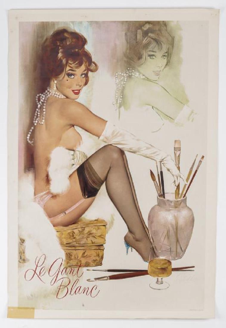 Fritz Willis (California, 1907-1979) Le Gant Blanc