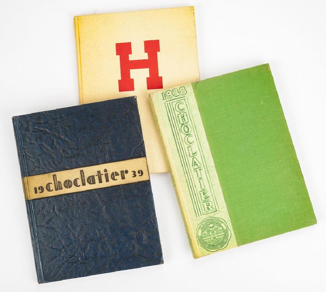 3 Milton Hershey School Yearbooks - 1937 - 1939
