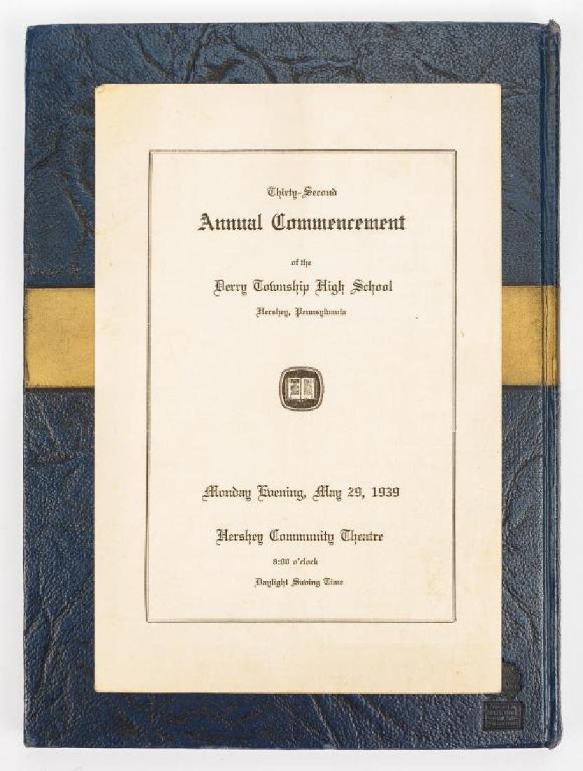 3 Milton Hershey School Yearbooks - 1937 - 1939 - 6