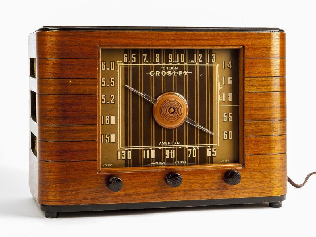 Vintage Crosley Radio - 2