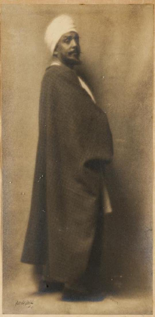1913 Arnold Genthe Photograph of Otis Skinner