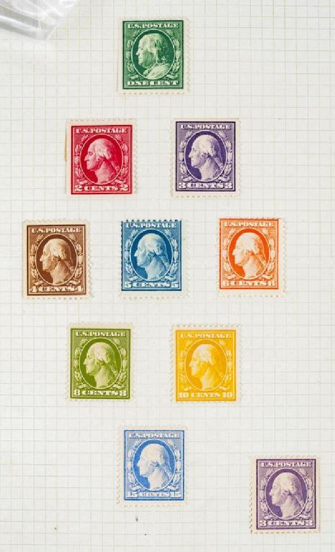 US Stamps Washington / Franklins - 3