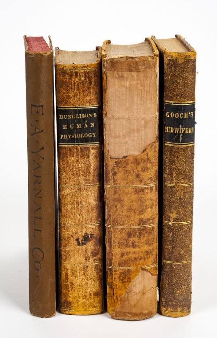 4 19th C. Medical Books incl. Yarnall Surgical