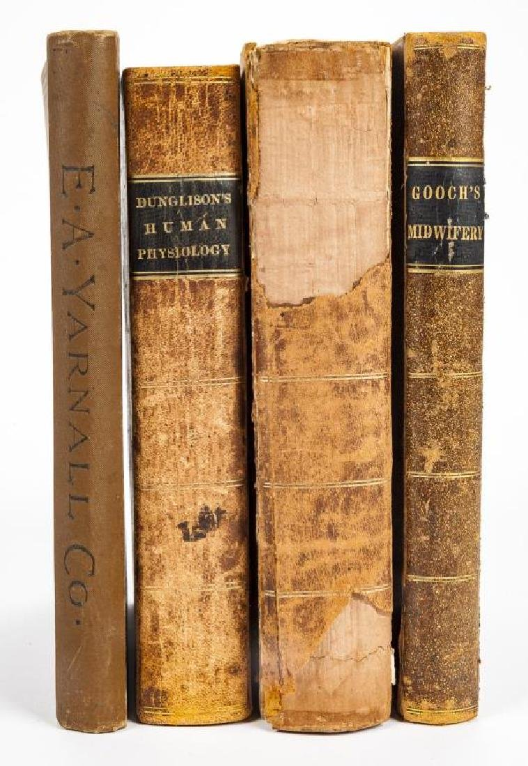 4 19th C. Medical Books incl. Yarnall Surgical - 2