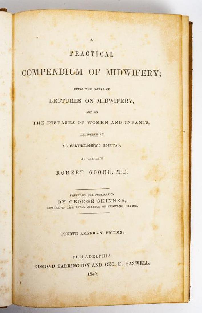 4 19th C. Medical Books incl. Yarnall Surgical - 3