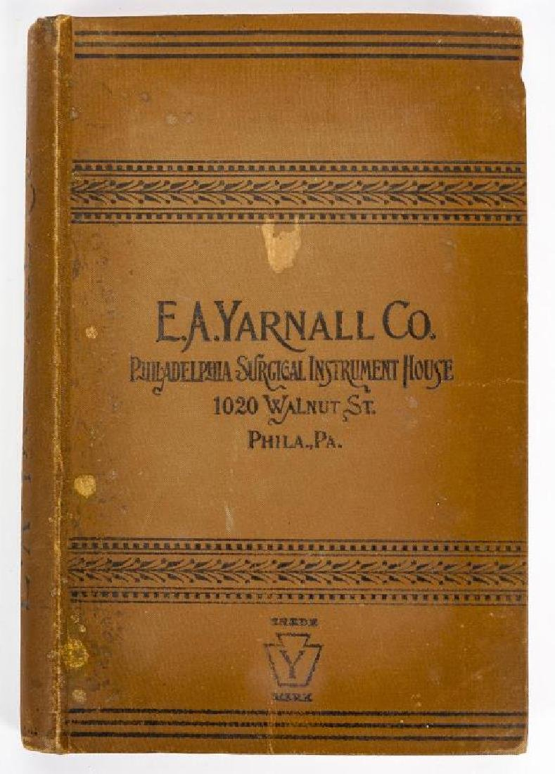 4 19th C. Medical Books incl. Yarnall Surgical - 6