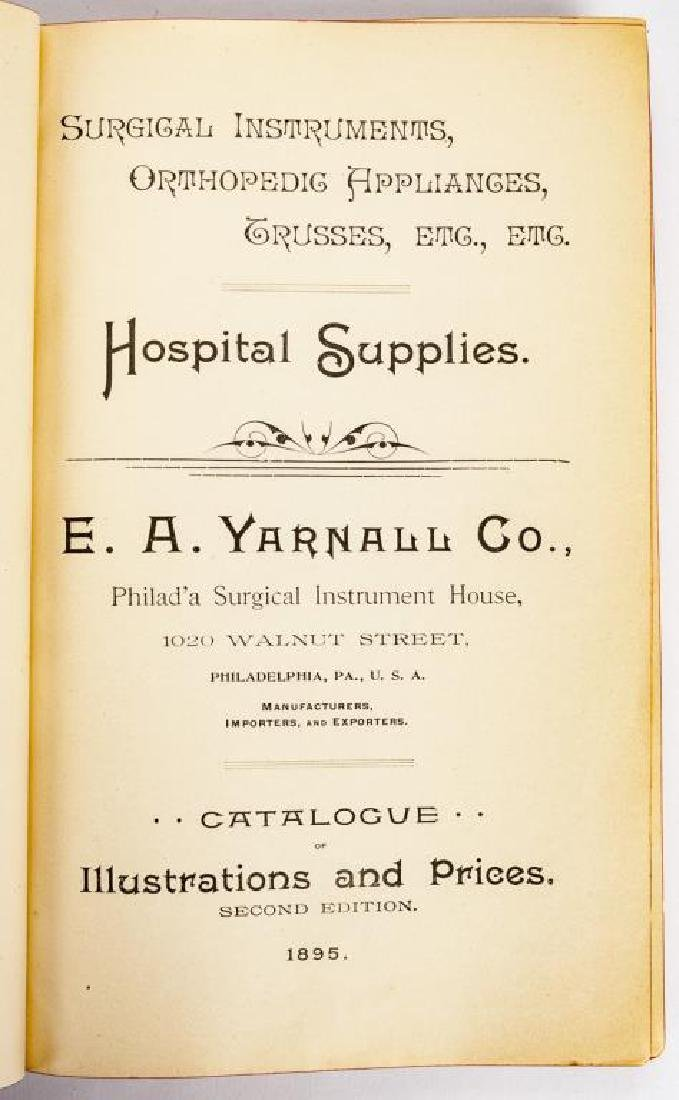 4 19th C. Medical Books incl. Yarnall Surgical - 7