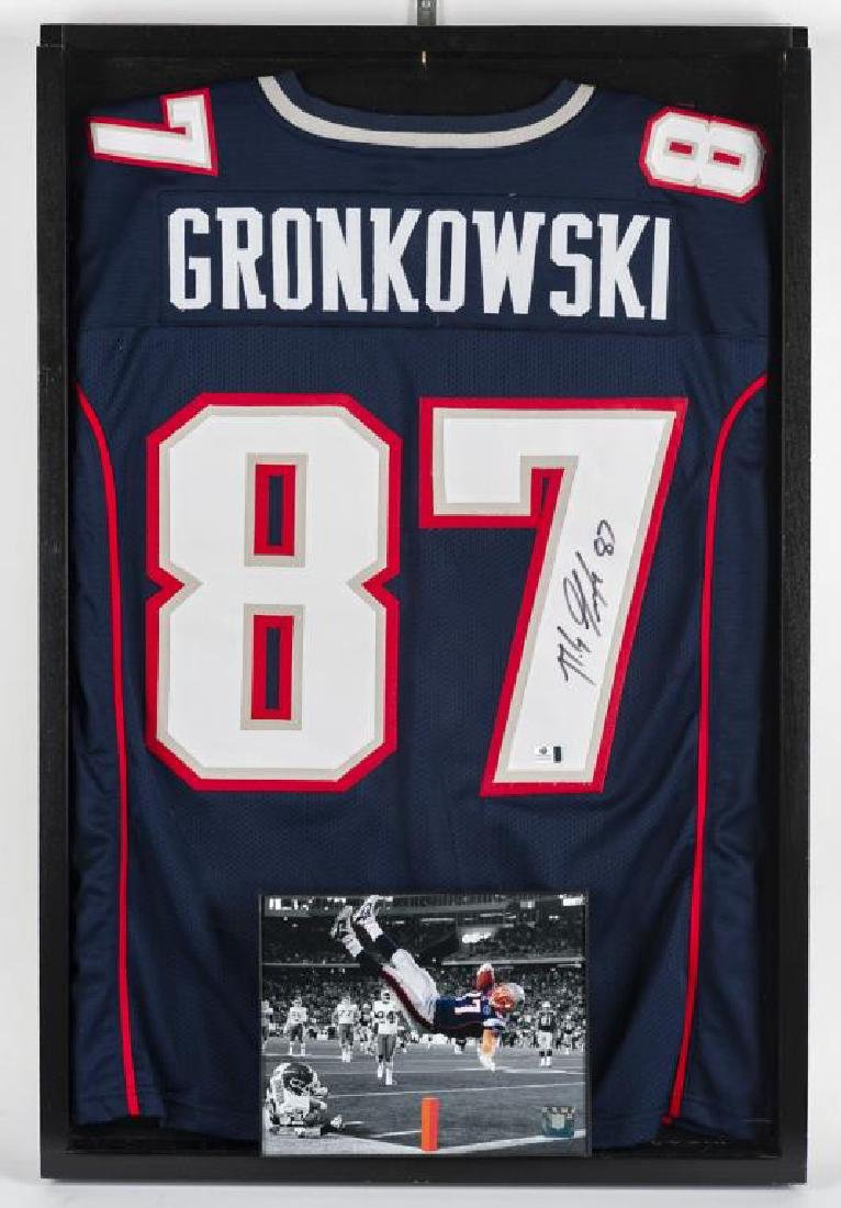 Autographed Rob Gronkowski Football Jersey