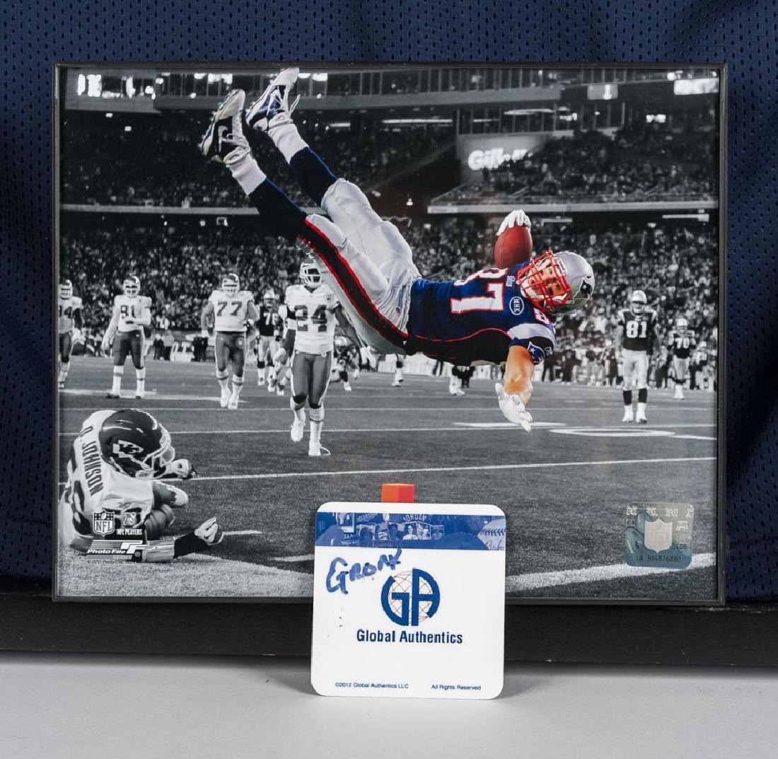 Autographed Rob Gronkowski Football Jersey - 2