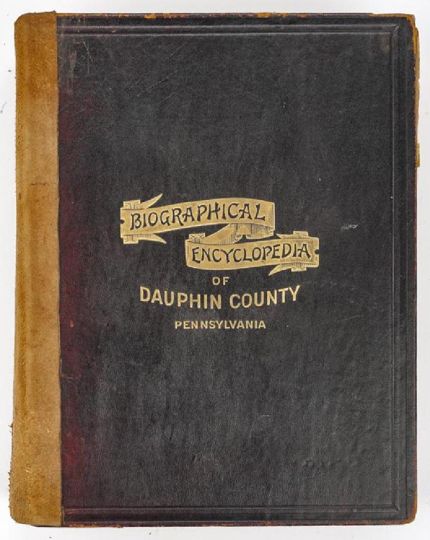 History of Dauphin Co. & Biographical Encyclopedia - 2