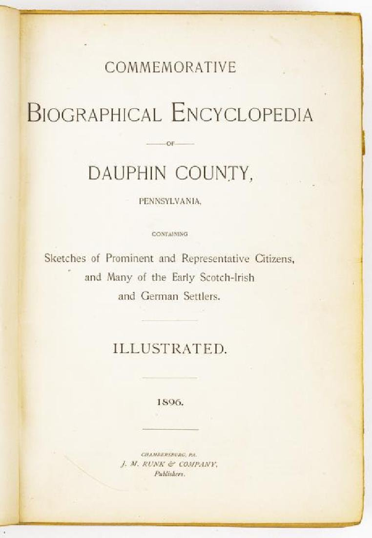 History of Dauphin Co. & Biographical Encyclopedia - 5