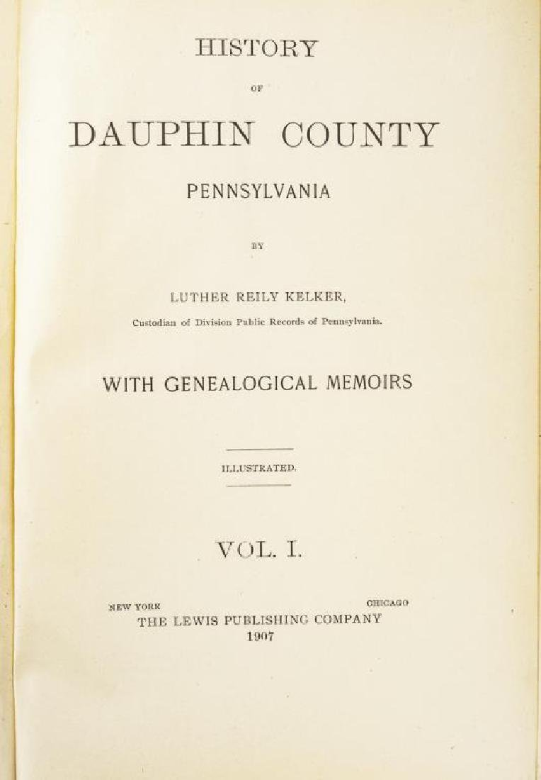 History of Dauphin Co. & Biographical Encyclopedia - 7