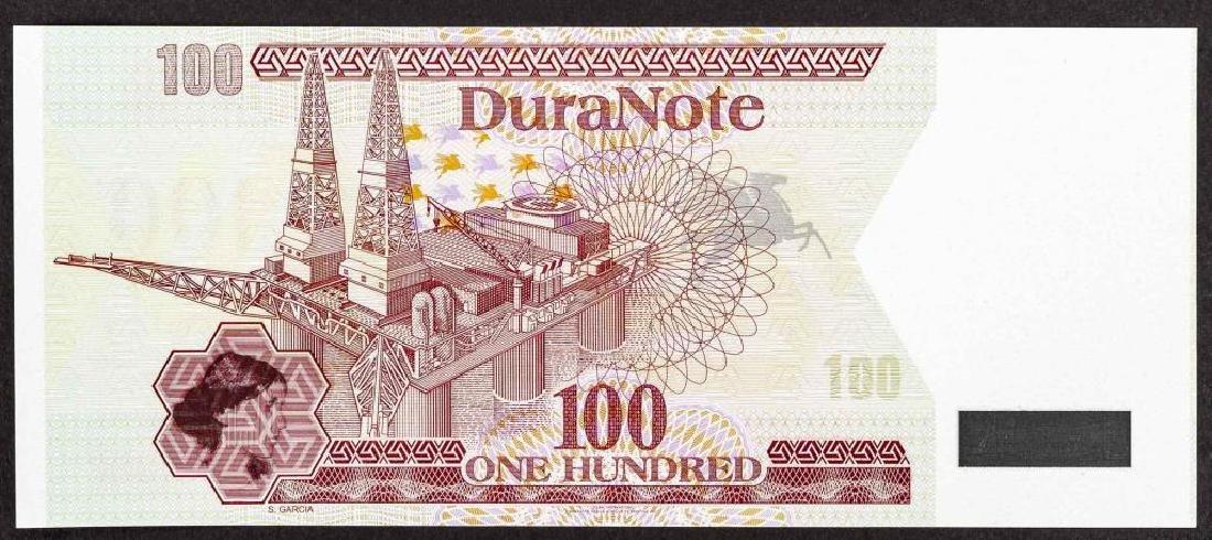 19 Duranote 100 Units Banknote Specimens - 2