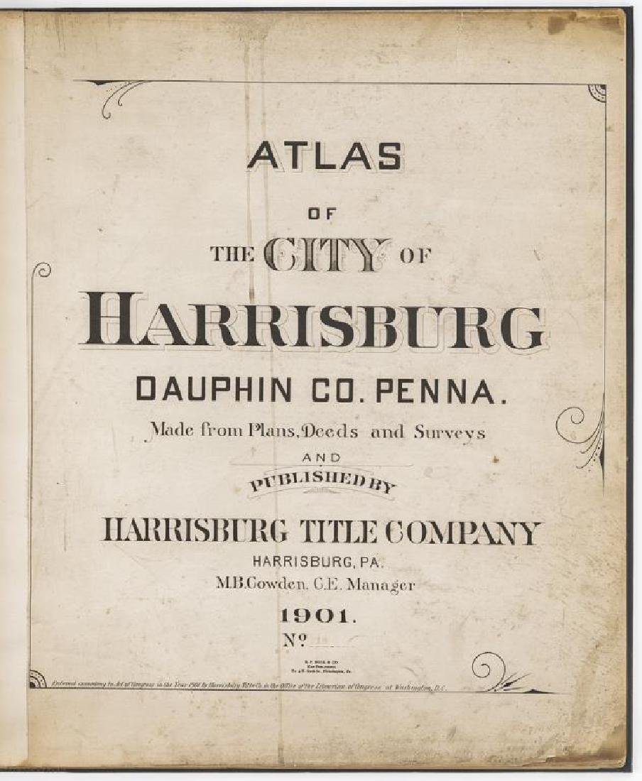 1901 Atlas of Harrisburg, PA