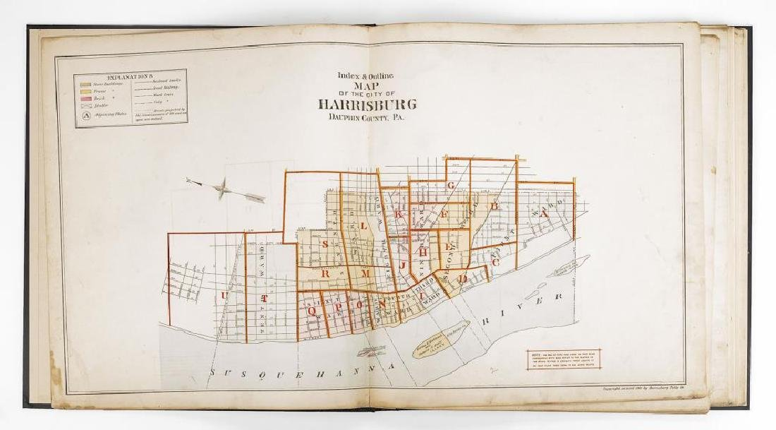 1901 Atlas of Harrisburg, PA - 3