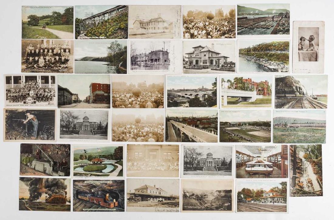 35 Vintage Pennsylvania Postcards