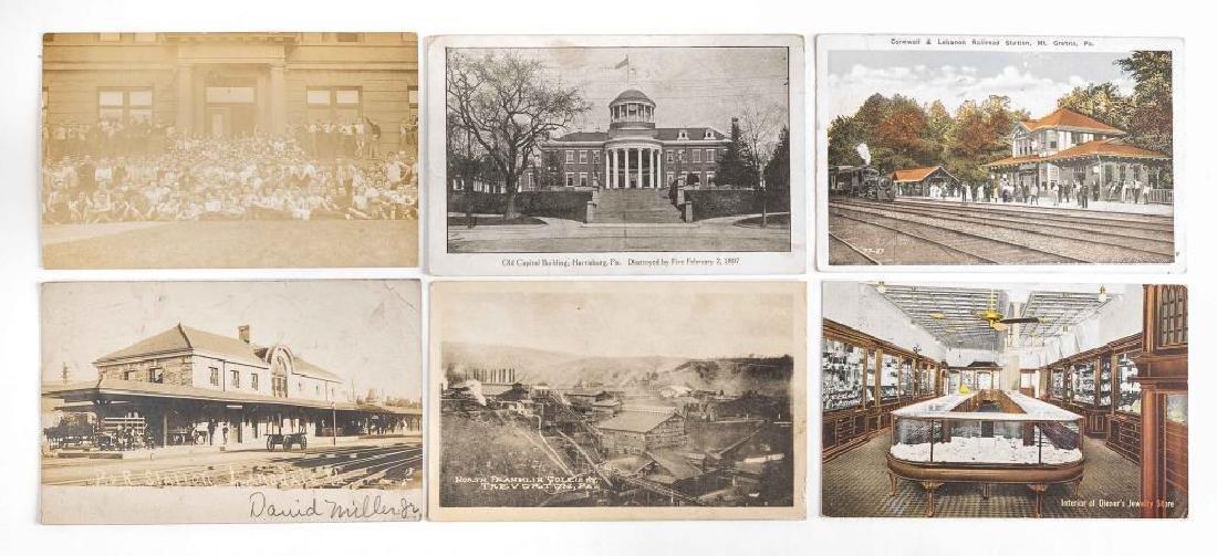 35 Vintage Pennsylvania Postcards - 2