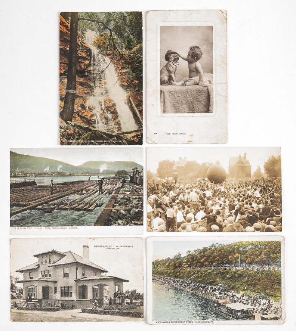 35 Vintage Pennsylvania Postcards - 7