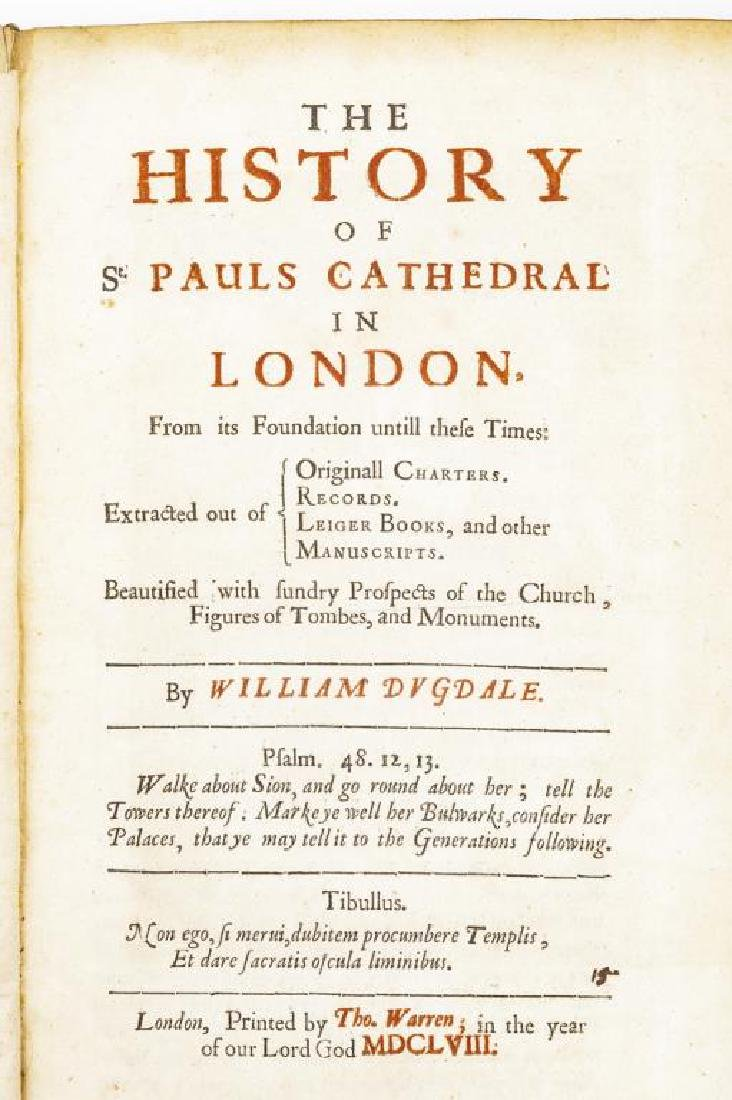 2 Books on Salisbury and St. Pauls Cathedrals - 10