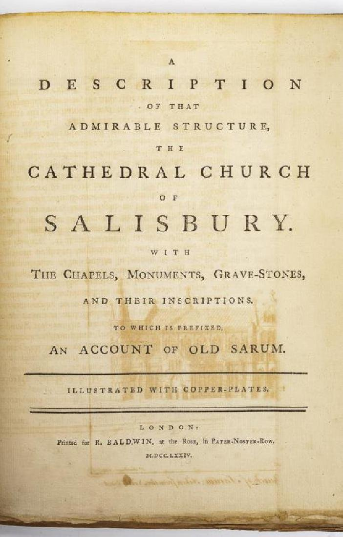 2 Books on Salisbury and St. Pauls Cathedrals - 6