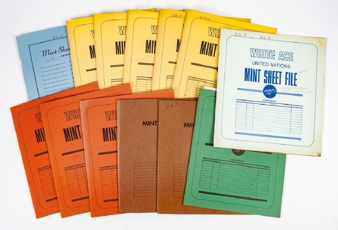 1970s-80s Mint Postage Sheets