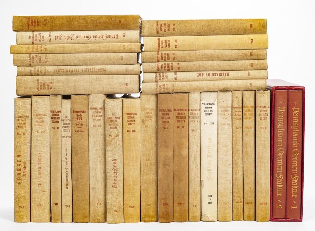 31 Books on Pennsylvania German Folklore & Art