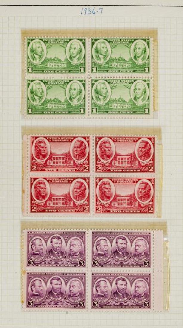US Stamps Early 20th Century Mint Commemorative - 2