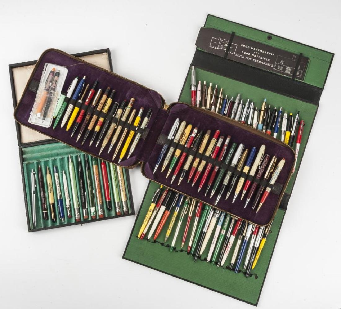 85 Circa 1940s - 1950s Advertising Pens & Pencils