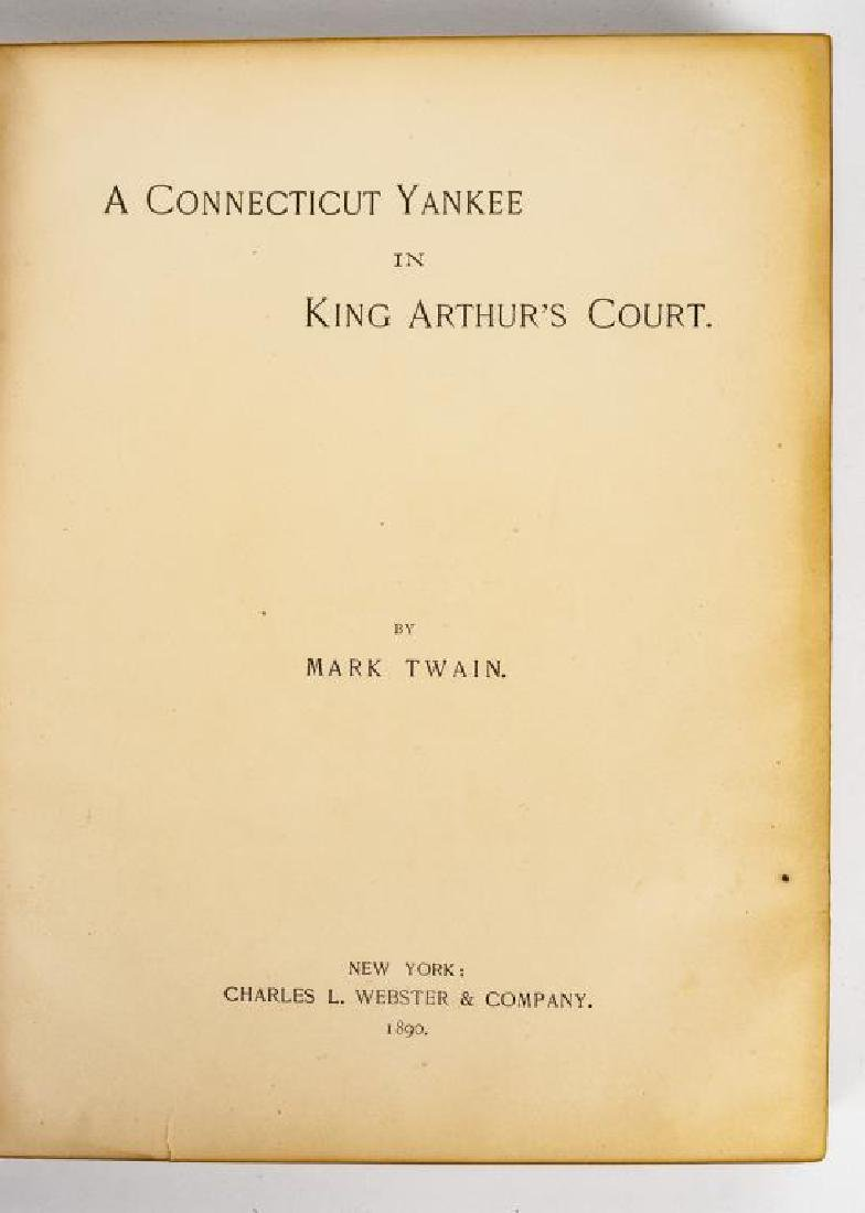 A Connecticut Yankee in King Arthur's Court 1st Ed - 3
