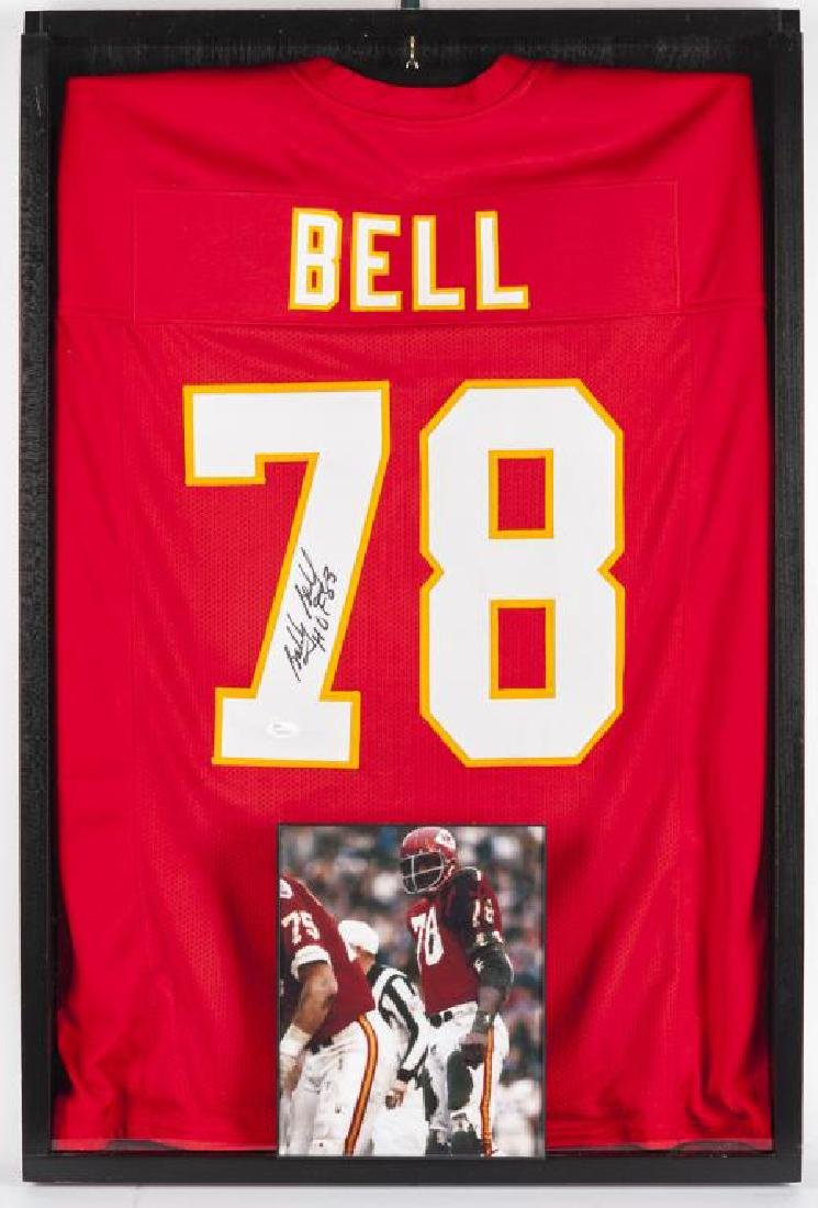 Autographed Bobby Bell Football Jersey