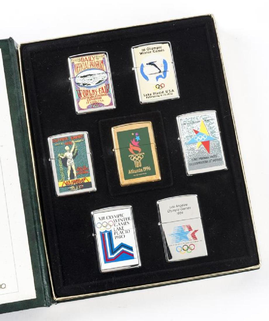 Limited Edition Atlanta 1996 Olympic Games Zippos
