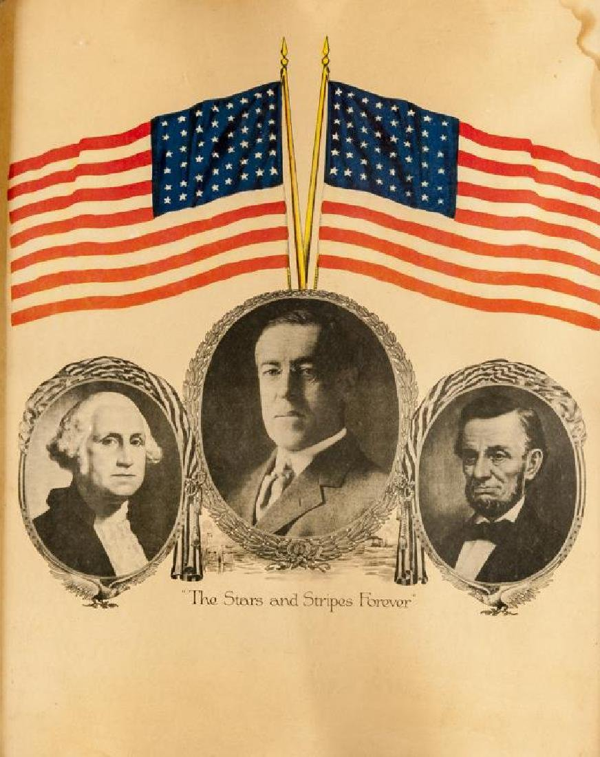 Woodrow Wilson Stars & Stripes Campaign Poster
