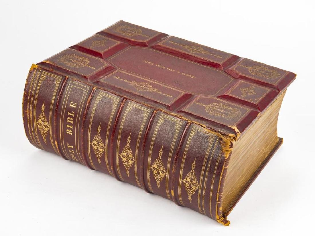 Devotional Family Bible by Alexander Fletcher