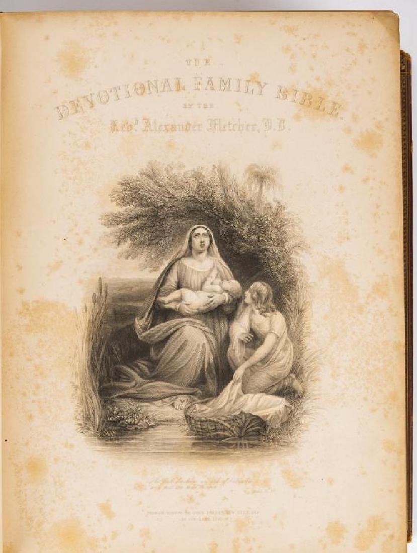 Devotional Family Bible by Alexander Fletcher - 8