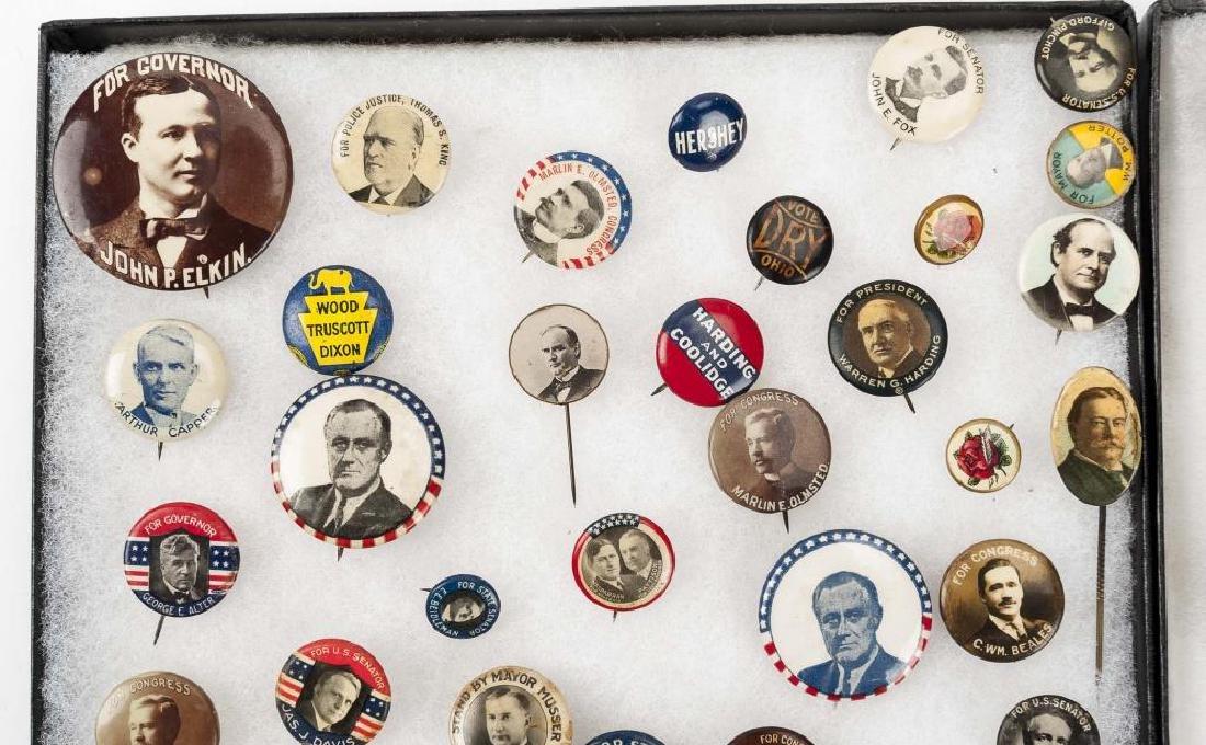 93 Political Pinbacks Incl Taft, Coolidge, Harding - 2