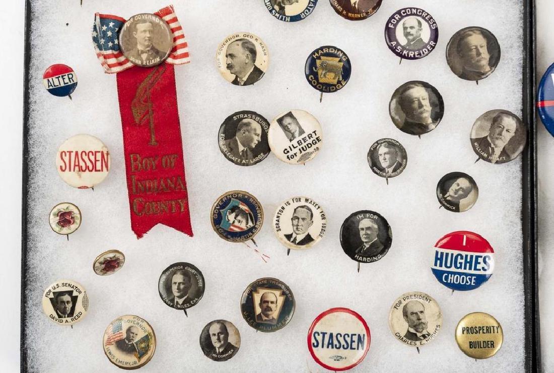93 Political Pinbacks Incl Taft, Coolidge, Harding - 3