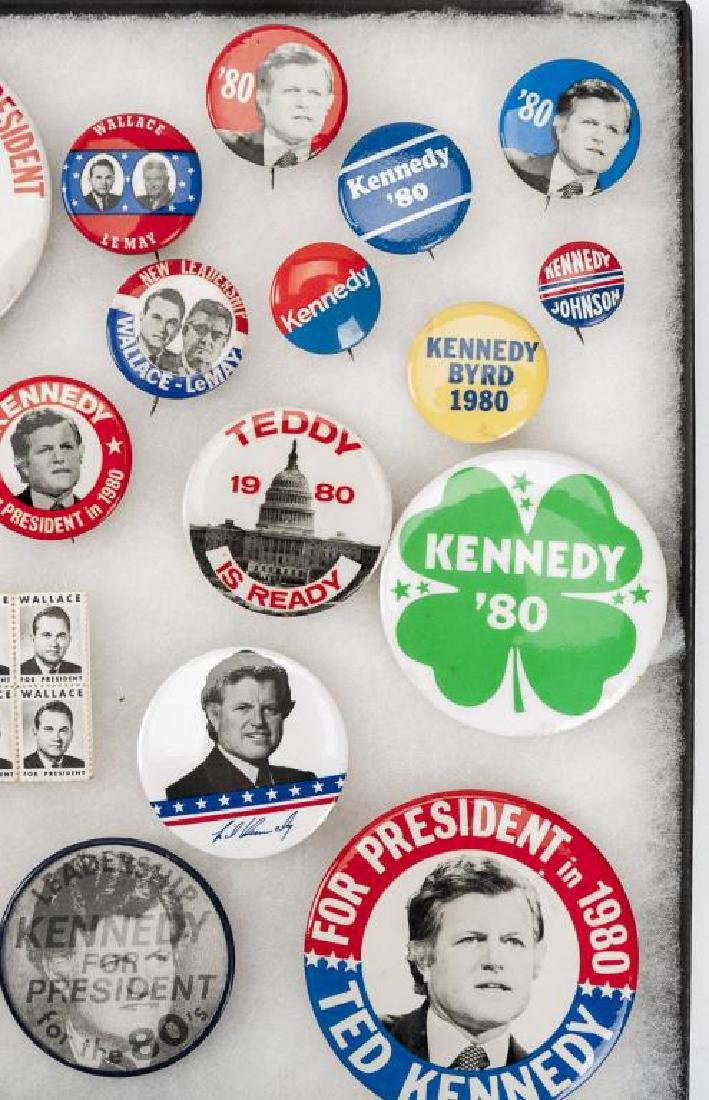 93 Political Pinbacks Incl Taft, Coolidge, Harding - 5