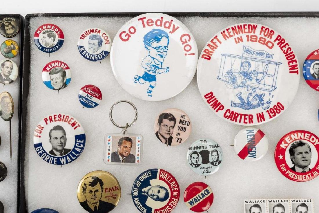 93 Political Pinbacks Incl Taft, Coolidge, Harding - 6